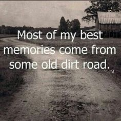 Many good memories of growing up in Southern Calif. Many adventures w/ my horse riding thru the hills & dirt trails. Riding horses on saturdays w my dad. the summer horse packing trail rides to camp back in the mountains in Sequoia National Park , the cold water of the clear streams,  bike riding w/ my brother in the hills & riding a big box down grassy hill together like on a sled above my house in Calif. Good times.