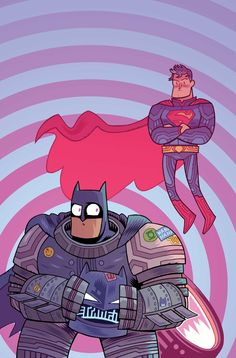 BATMAN SUPERMAN #22 Teen Titans Go! Variant Cover