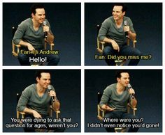 If I ever meet Andrew Scott or Benedict I'm sooooooo asking this....actually any sherlock cast I am asking this too! XD