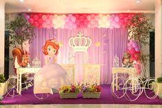 ideias festa princesa sofia - Pesquisa Google