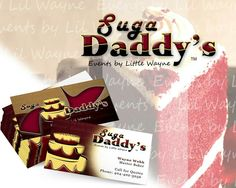 Suga Daddy's Logo and Business Card Design
