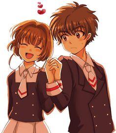 Sakura e Shaoran <3 #love #anime #sakuracardcaptors #sakuraandshaoran