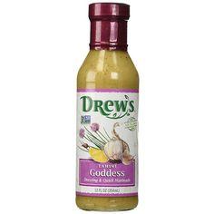 Drew's All Natural Dressing & Quick Marinade Tahini Goddess