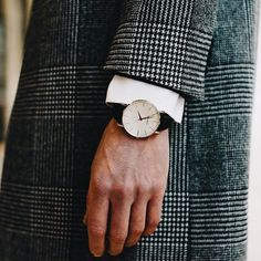 From our #lookbook from #Berlin. The Classic Slim Wrist Watch - Free worldwide shipping on all of our luxury #watches, including this classic. #classicwatch #menswatch #minimalistwatch #Brathwait #minimalist #watch #wristwatch #classic #handmade #leather #slim #mensfashion #40mm #luxury
