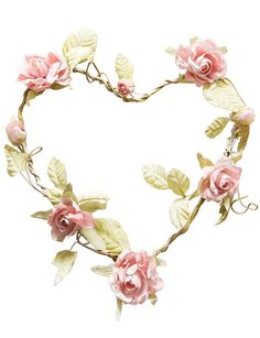 The Heart Shaped Rose Wreath Light Pink is made from wire covered in fabric and is beautifully decorated by fabric flowers and leaves. The heart can be a gorgeo Hanging Garland, Rose Garland, Wedding Card Design, Wedding Cards, Frame Floral, Healing Heart, Heart Wreath, Table Flowers, Rose Tattoos