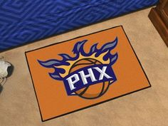 NBA  Phoenix Suns Starter Rug 19 x 30By BlueTECH >>> You can get more details by clicking on the image.