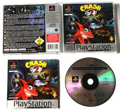 Playstation 1 Crash Bandicoot 2: Cortex Strikes Back für Ps1