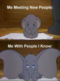 INFJ Me with people I know very well AND am comfortable with!