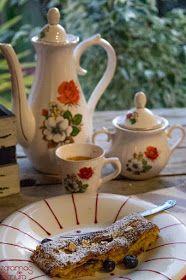 7gramas de ternura: Tarte Coberta de Maçã, Mirtilos e Amêndoa Control, Sim, Tea Pots, Tableware, Desserts, Tailgate Desserts, Sweet Recipes, Clean Eating Meals, Pies
