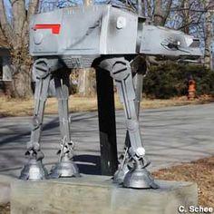 Star Wars: AT-AT Mailbox