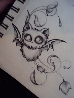 Baby Bat by AmeliaEerie on DeviantArt