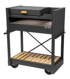 Parrilla rodante con tapa Bbq Grill, Grilling, Bbq Table, Welding Table, Kitchen Cart, Outdoor Cooking, Design Awards, Backyard Landscaping, Nightstand