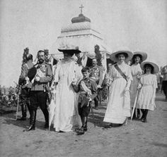 The Imperial Family, 1912