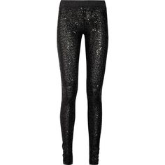 Sass & bide One by One sequined leggings ($265) ❤ liked on Polyvore