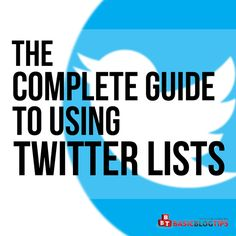 The Complete Guide to Using Twitter Lists Like a Pro http://buff.ly/2ii7K0P via @Ileane #TwitterTips