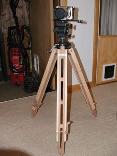 Awesome wood tripod. Its simple but really elegant. I really like how easy the cam leg tightener is. - Wood tripod legs
