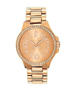 Juicy Couture | Rose Gold Jetsetter with Swarovski Crystal. Xmas wishlist!