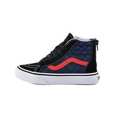 Vans UY SK8-HI ZIP (CHECKERBOAR (VA3276ODI) Vans Old Skool, Zip, Sneakers, Shoes, Fashion, Tennis, Moda, Zapatos, Shoes Outlet