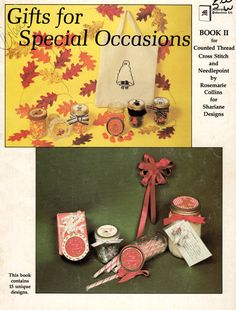 Cross Stitch Gifts for Special Occasions, an Autumn Holidays Booklet