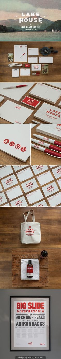 pinterest.com/fra411 #visual #identity - Lake House Branding by Tag Collective #brand