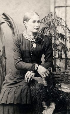 c. 1890  This lovely lady looks like my aunt Joe Ann