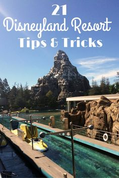 Disneyland Resort tips to help you make the most out of your visit to Disneyland & California Adventures. From where to eat to how to beat the lines.