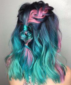 #Neue Frisuren 2017 50 erfrischende Teal Haarfarbe Ideen  #HaarModelle #Kurze #Bob #Neu #2018HaarModelle #Trendige #best #KurzesHaar #Haarschnitte #HairStyle #Trend #Haarschnitte #HerrlichesHaar #WeißeHaare #HaarmodellIIdeen#50 #erfrischende #Teal #Haarfarbe #Ideen