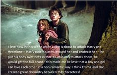harry potter confessions. So true. Hermione is also part of keeping Ron sane and he'd be dead a million times over without her.