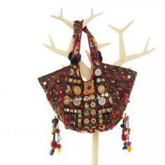 Bohemian Hippie Tribal Vintage India Fabric Handmade Hobo Tote 00022   bohemiantouch - Bags & Purses on ArtFire