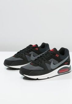 Nike Sportswear - AIR MAX COMMAND - Sneakers laag - black/cool grey/dark  grey/chilling red