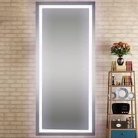 Diy Vanity Mirror With Led Lights Bathroom Small Simple Frame Vanity Mirror Led Lights Salon Mirrors Diy Vanity Mirror Full Length Mirror With Lights Full length mirror with led lights
