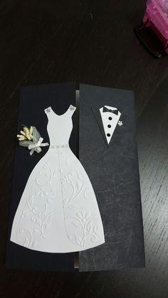 Biglietti auguri di matrimonio fatto per la mia collega