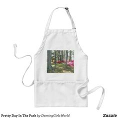 Pretty Day In The Park Adult Apron