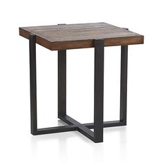 Lodge Side Table in Coffee Tables & Side Tables   Crate and Barrel