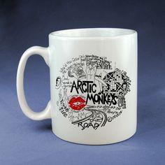 Arctic Monkeys Lyric, Design Mug, Size 9.5cm x 8.2cm 11oz Mug