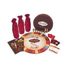 Challenge your mind and palate with this ZinZig Wine Tasting and Trivia Game. Invite your friends over for some fun! The first player to taste their way to the winery wins!