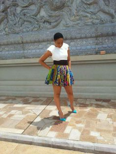 Pokello Nare looks absolutely stunning in this Asasawa skirt Pokello Nare, Next Fashion, Absolutely Stunning, Swagg, African Fashion, Style Me, Queen, Chic, Pretty
