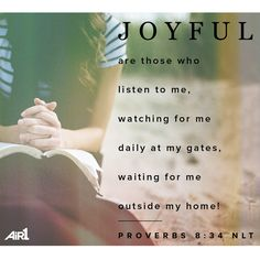 Tag a friend who challenges you and keeps your heart focused on God! #VOTD #Bible #Joyful