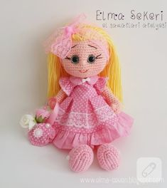 Amigurumi bebek ♡ lovely doll