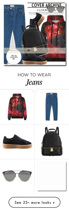 """""""Untitled #256"""" by dianagrigoryan on Polyvore featuring moda, Puma, Michael Kors y beautifulhalo"""