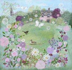 Cottage Garden by Lucy Grossmith // Homes & Gardens Portfolio | Lucy Grossmith | Heart To Art
