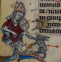 Detail from medieval manuscript, British Library Stowe MS 17 'The Maastricht Hours', f169v