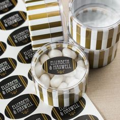 Personalized Oval Labels by Beau-coup