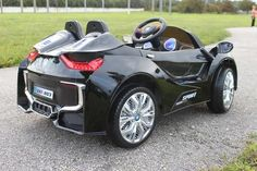 New Sport BMW i8 Style Electric Ride On Car 12V Parenting Wireless RC Black - GarageN1  - 5