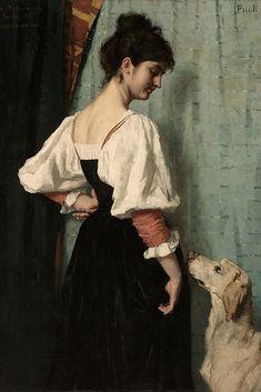 Old Paintings, Classical Art, Western Art, Dog Portraits, Dog Art, Erotic Art, Figurative Art, Fine Art, Dogs