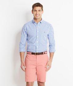 Smith's Bay Gingham Tucker Shirt