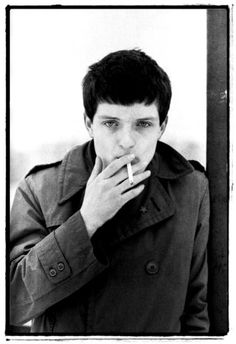 Ian Curtis-- I wish I could've known you. I feel like I must've known you in another life. I wish I could've shown you the way out of the darkness.