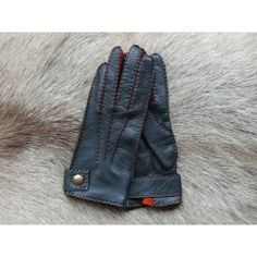 Ladies Deerskin Top Leather Gloves