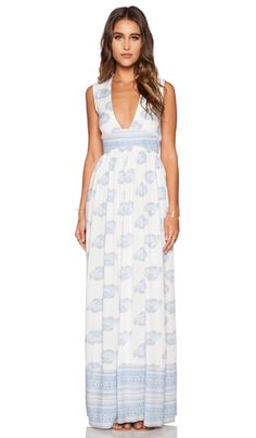 FAITHFULL THE BRAND Night Orchard Maxi Dress in Sunfaded Print | REVOLVE