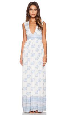 FAITHFULL THE BRAND Night Orchard Maxi Dress in Sunfaded Print | REVOLVE